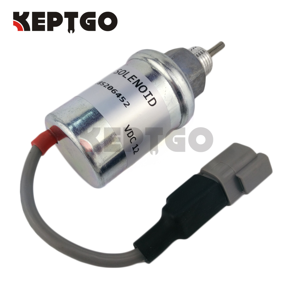 US $20 5 |12V U85206452 Fuel Stop Solenoid Valve For CAT 3024C 3013C 3034  3024 C1 1 C1 5 C2 2 324 4598-in Generator Parts & Accessories from Home