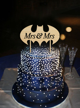 Two Bride Wedding Cake Topper Sam Sex Mrs & Mrs Lesbian Cake Stand Personalized Wedding Womens Favors Party Decoration Casamento(China)