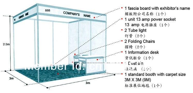 Exhibition Stand Measurements : Купить Демонстрационный баннер wholesael с бесплатной