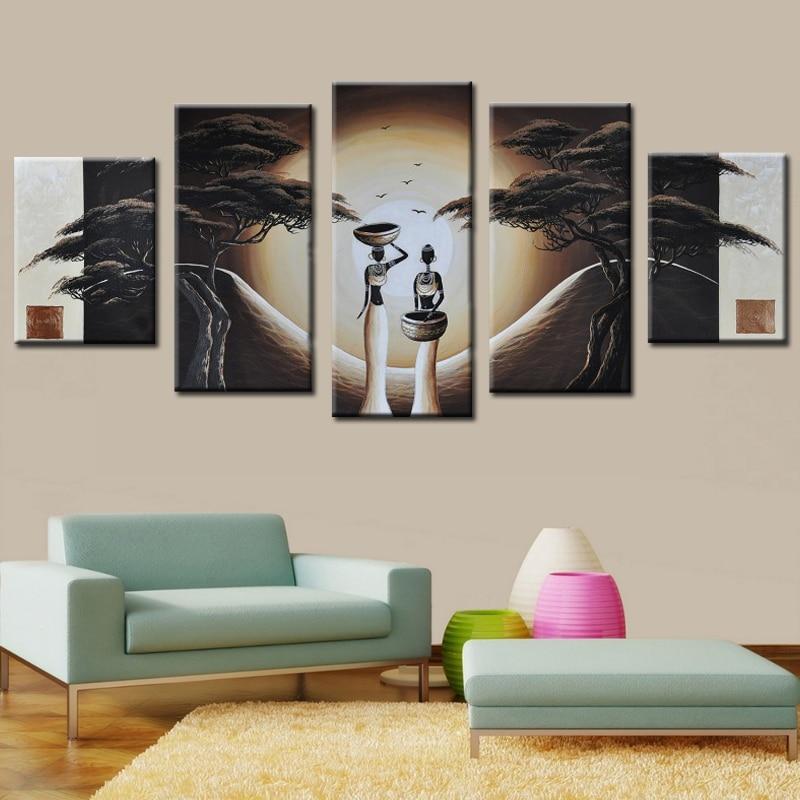 Online get cheap afrikaanse figuur schilderen alibaba group - Decoratie voor slaapkamer ...