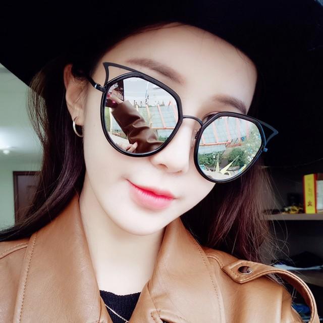 Meninas óculos de sol Da Marca Senhoras Óculos UV400 Lens Mulheres óculos  de Sol Do Olho 68ed58cf26
