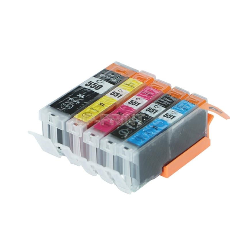 Совместимый чернильный картридж для MG5450, MG6350, mx725, MX925, IP7250, MG6450, MG5650, MG5550, IX6850, для Европы, до 5 шт.