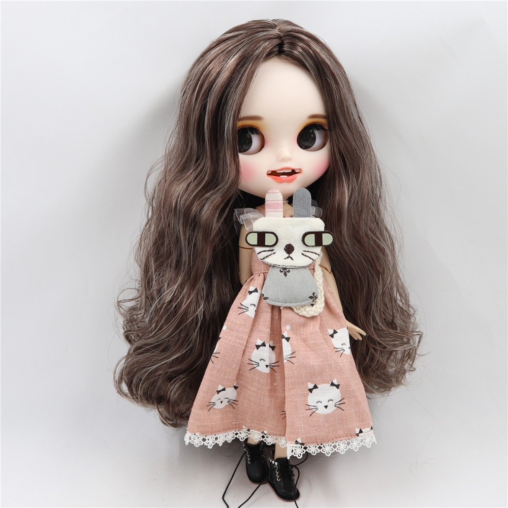Evette - Premium Custom Blythe Doll with Smiling Face 4
