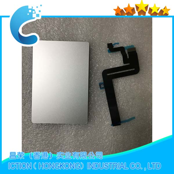 Original New Silver Color A1932 Touchpad Trackpad For Macbook Air Retina A1932 Touchpad Trackpad with Cable 2018 Year-in Touch Pads from Computer & Office    1