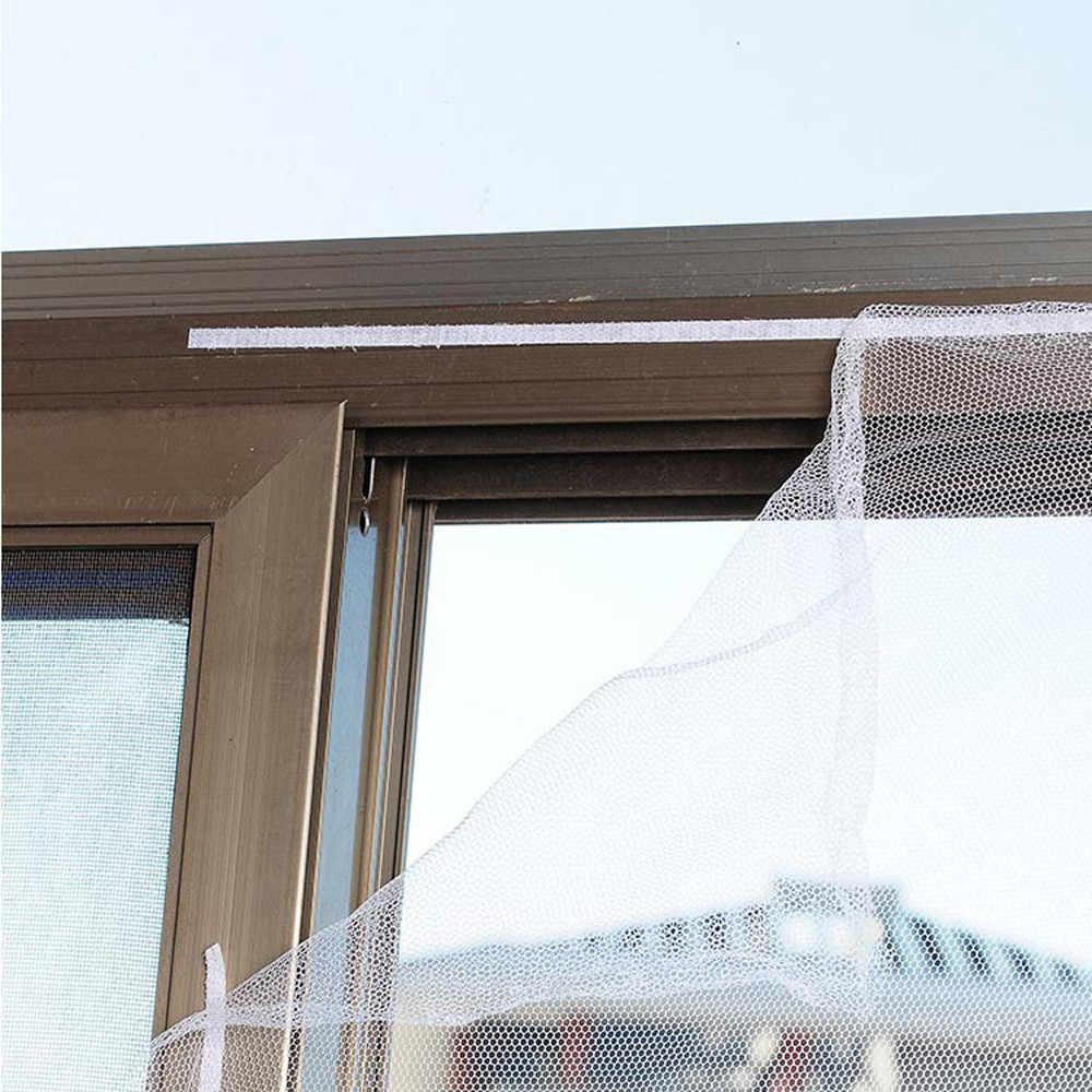 2019 Baru Indoor Serangga Terbang Layar Tirai Mesh Bug Nyamuk Kelambu Pintu Jendela Anti Nyamuk Bersih untuk Jendela Dapur 71