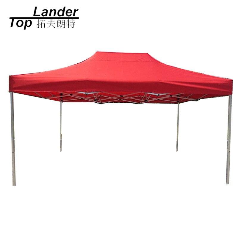 3*4.5 m extérieur en aluminium pliant publicité exposition Evnet auvent tente soleil abri Awing voiture Gazebo Mobile Garages auvent tente