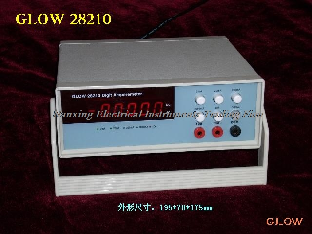 Snelle aankomst Desktop GLOW28210 4 1/2 digitale AC/DC stroom tester, mA huidige tester 2mA/20mA/200mA/2000mA/10A - 2
