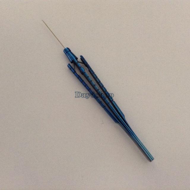 Офтальмологические инструменты из титанового сплава, капсульный шестигранный Пинцет Virtreo сетчатки, инструменты с острым наконечником