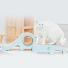 Cat Scratcher Board Elephant Shape Play Scratching Pads Bed Mat for Rest and Toy