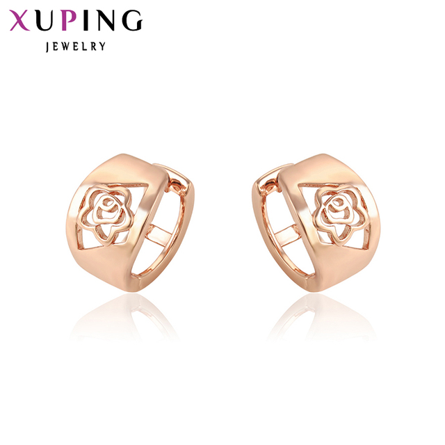 11 Deals Xuping Fashion Earrings Mother S Day Best Gift Mom Charm European Style Gold Color Plated