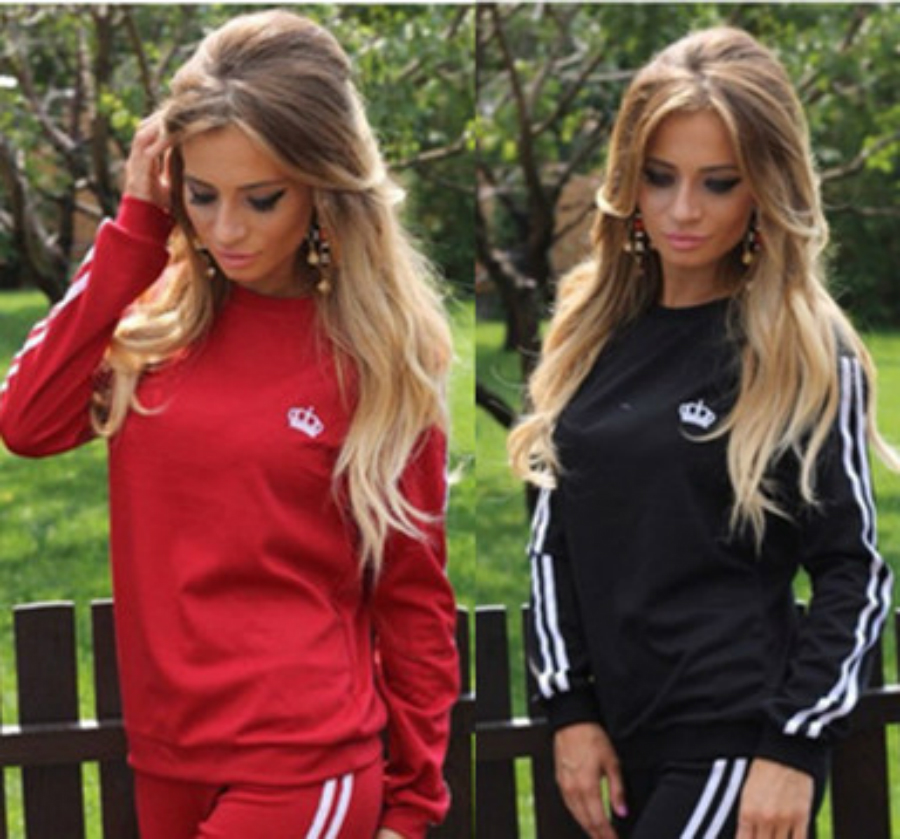 ZOGAA 2019 spring New Women Tracksuits Long Sleeve Pullover Tops Sports Hoodies Sweatshirts sweatshirt  women two piece outfits