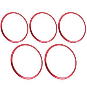 Image 4 - In lega di alluminio di uscita Dellaria sticker/Strumento anello decorativo presa pannello di Aria Per Mercedes Benz AMG A/B/GLA/CLA W246 W176 Classe