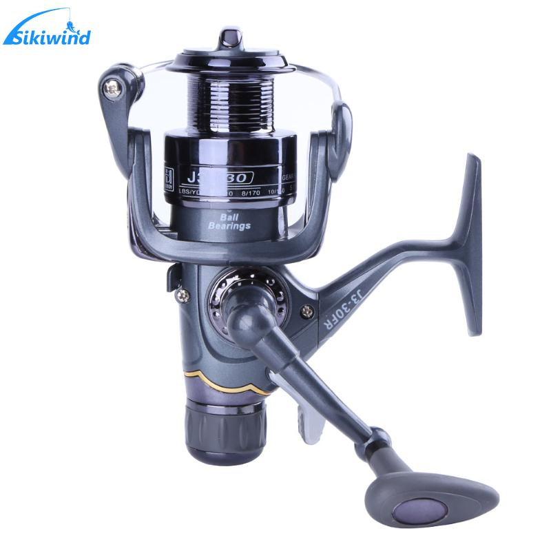 20RF 30RF 40RF Fishing Reel Carp Spinning Reel Carbon Front And Rear Drags 3BB Bearings Metal Fishing Reels Tools Accessories