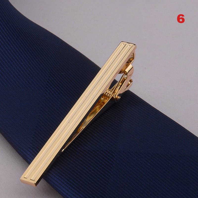Newly Men Metal Alloy Tie Clip Clamp Necktie Bar Clasp Wedding Bridegroom Business Fashion Formal Gifts FDM
