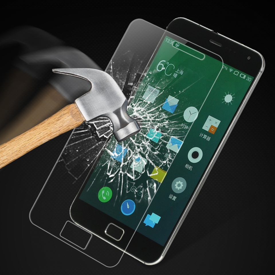 2PCS Tempered Glass Meizu MX4 Pro Screen Protector For Meizu MX4 Pro Glass MX 4 Pro Film Anti-scrath Protective Film XnrapiD