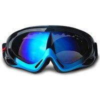 New Brand Ski Goggles UV Cut Anti Fog Glasses Skiing Children Kids Snowboard Goggles Multi Color