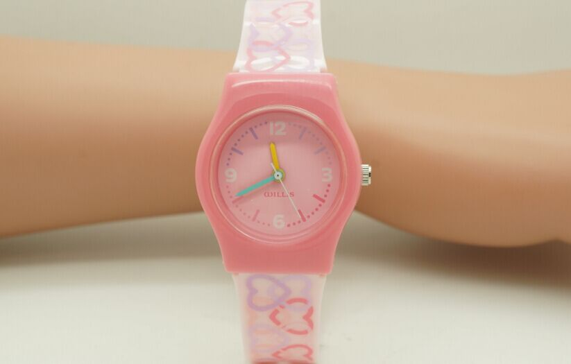 2016 new Willis for Mini Waterproof Fashionable Student s Kid s Candy Color Analog Quartz Wrist