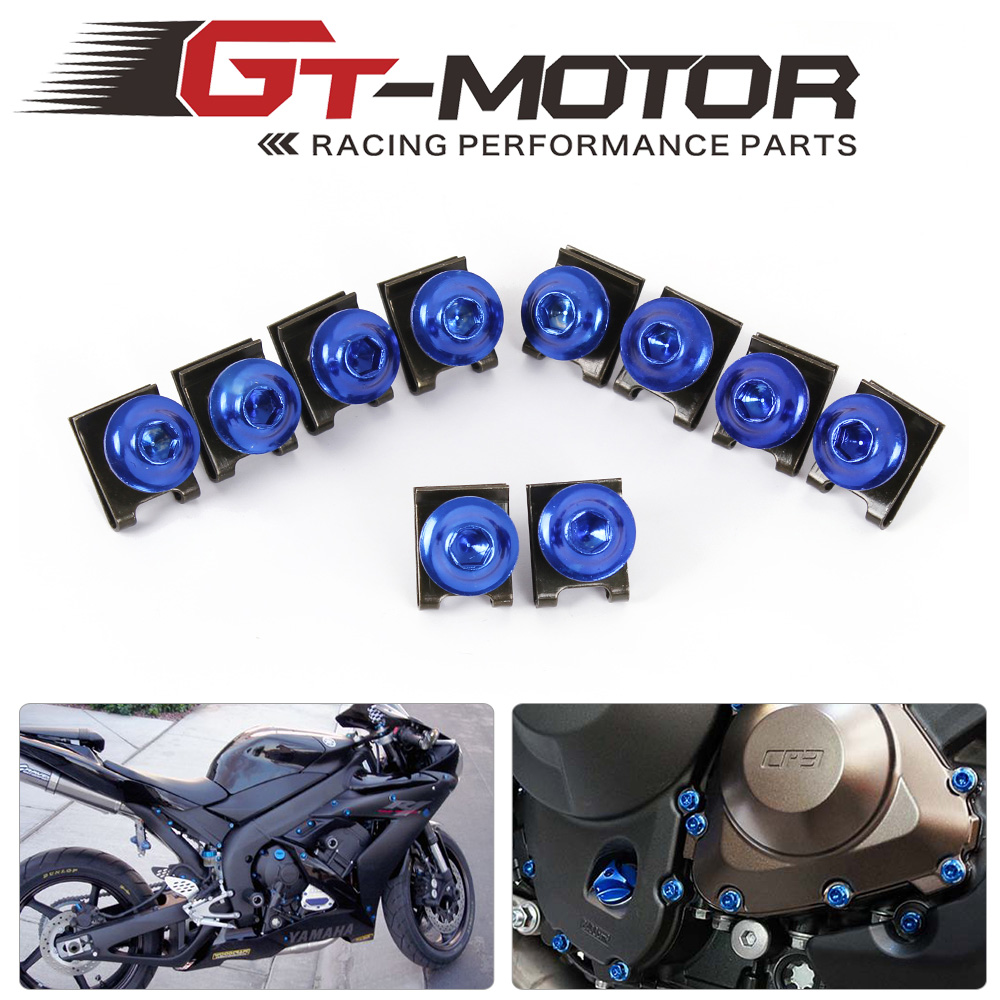 Подробнее о GT Motor - free shipping Universal Motorbike accessories Screw  Fairing Bolts  Sportbike Set  Screws Pike BoltsFastener Clips universal motorbike accessories motorcycle screws pike bolts for honda cb600f cb1000r cb1100 cb1100f cb1300 super four