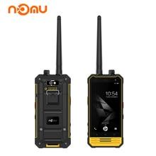 NOMU T18 IP68 Smartphone Wakie Talkie Intercom 4.7 Pulgadas Android Celular 7.0 Quad Core 3 GB 32 GB 5200 mAh NFC PTT 4G Teléfono Móvil