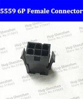 1000 шт. ~ 2000 шт. Бесплатная доставка 5559/2 * 3pin 6pin 6 P женский Мощность разъем Пластик оболочки для ПК компьютер 6 pin PCIe PCI E plug