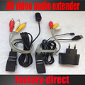AV video audio extender over cat5e/6 ethernet cable with IR Infrared Repeater+USB power adapter