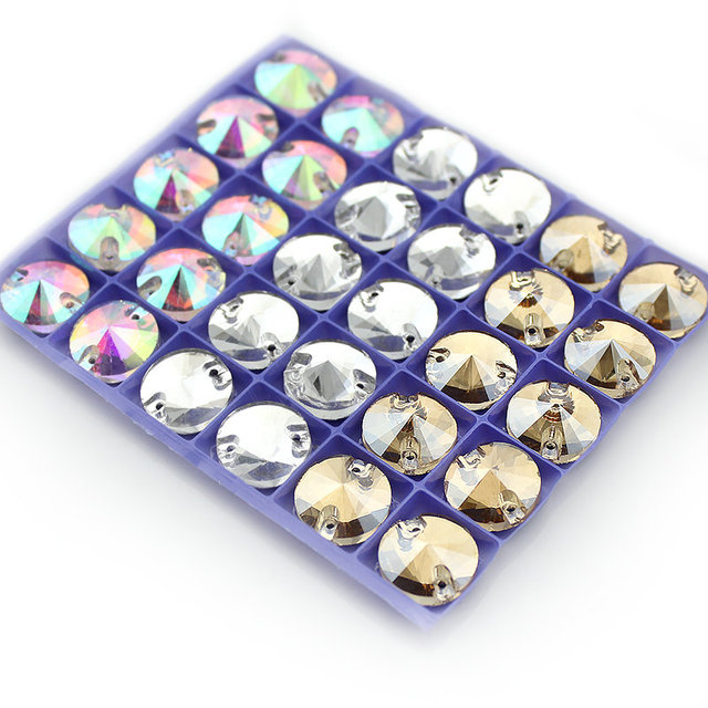 8mm-16mm Crystal buttons  1