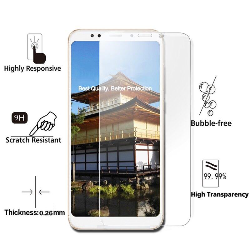 Alta qualidade Protetor de Tela para Xiaomi Redmi 5 5 PLUS 5 2.5D 9 H de Vidro Temperado para Xiaomi Redmi Nota filme protetor Pro