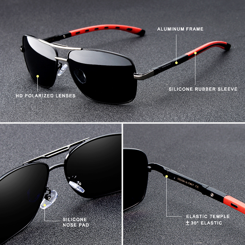 Classic Aluminum Polarized Sunglasses K724