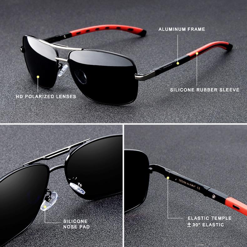 HTB1bpR3XdfvK1RjSspfq6zzXFXah GIFTINGER 2020 Brand Men Aluminum Sunglasses HD Polarized UV400 Mirror Male Sun Glasses Women For Men Oculos de sol N724