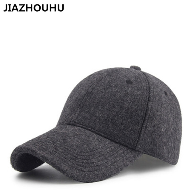 47835783890 Plus Velvet Wool Thick Dad Hat New Autumn Winter Outdoor Tidal Bare Cashmere  Baseball Cap For Women Warm Casquette Hats Caps Men