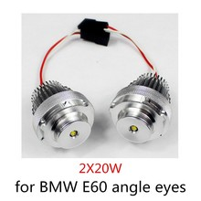 high quality for BMW E602 Pieces (1 Set) 10WX2 E60 LED Angel Eyes car-styling 6000K XENON White marker