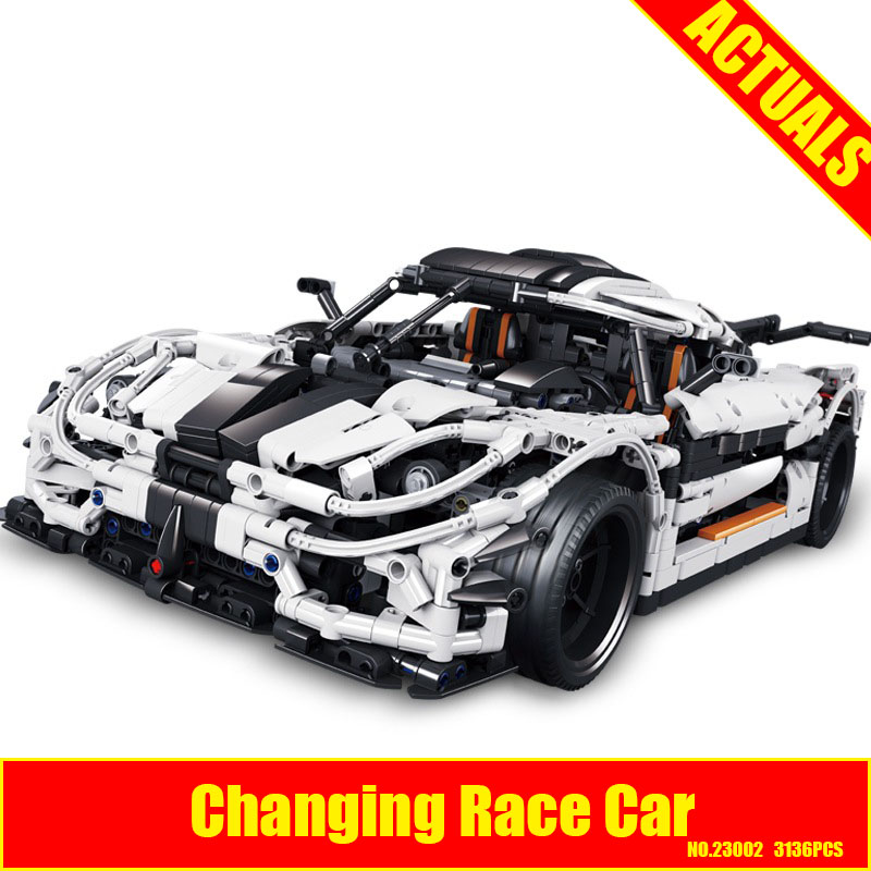 Technic Series Lepin 23002 3136Pcs The MOC-4789 Changing Racing Car Set Children Educational Building Blocks Bricks Toys Model lepin 23002 3136pcs technic series the moc 4789 changing racing car set 20001b building blocks bricks 23006 diy toys model gift