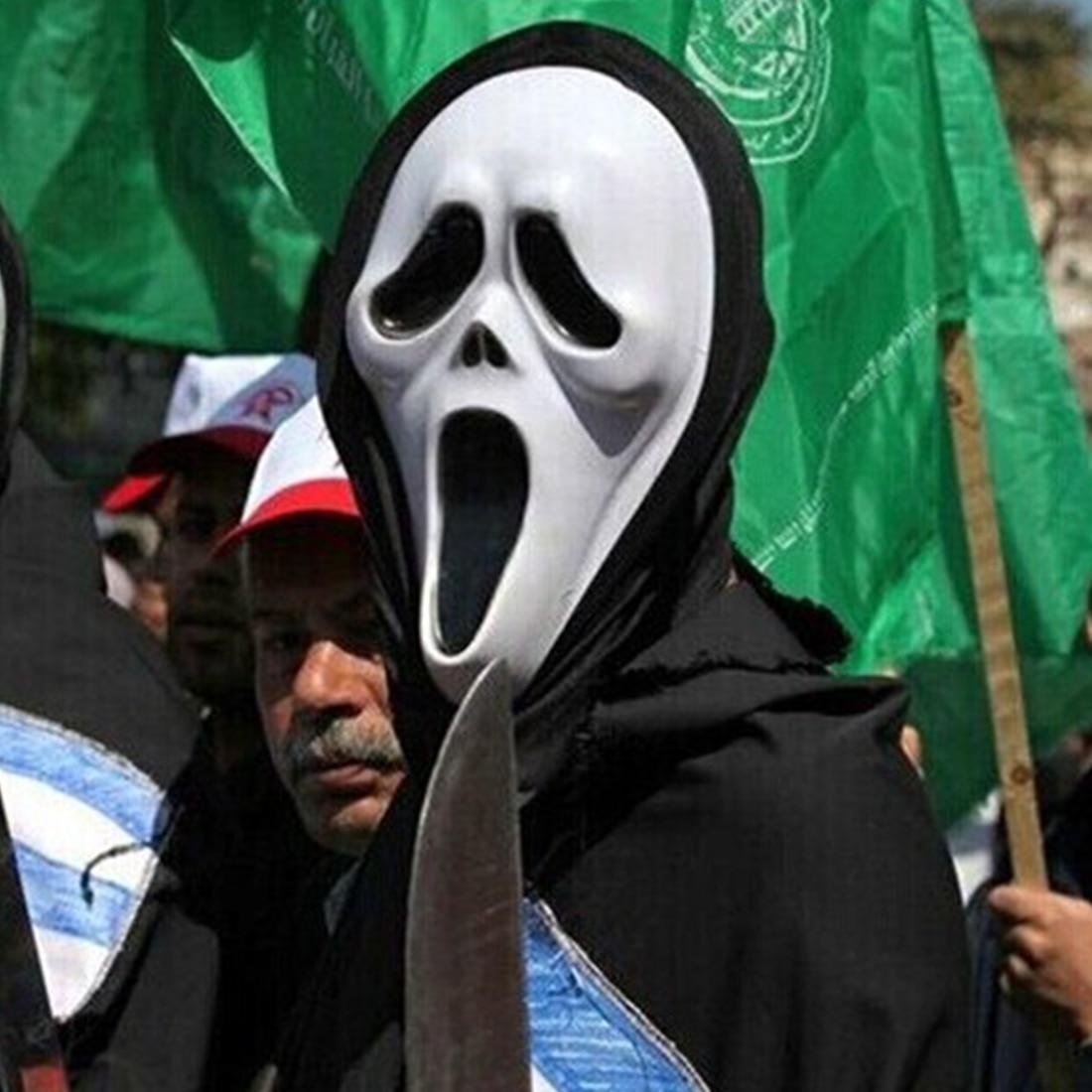 Scream Mask Blood Promotion-Shop for Promotional Scream Mask Blood ...