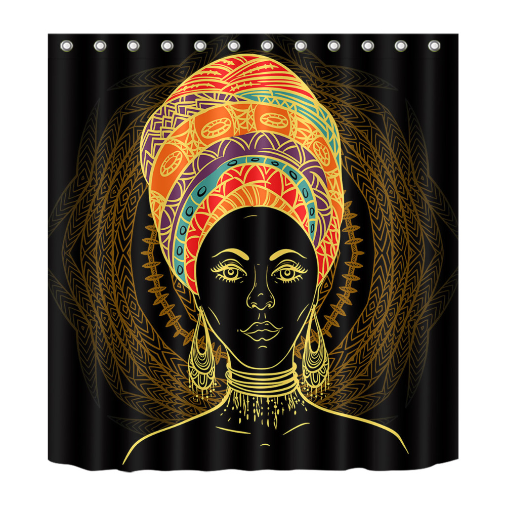 LB Boho Exotic Tradition Girl African American Woman