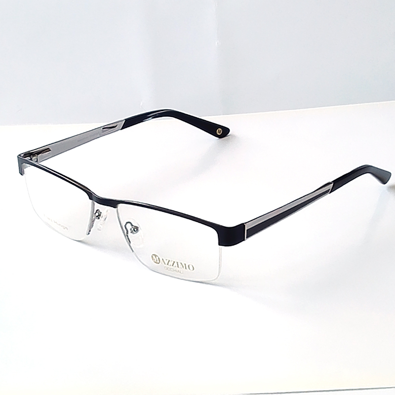 Glasses Frame Bridge Size : Aliexpress.com : Buy 2016 New arriving man black Metal ...