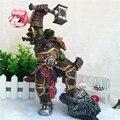 DC WOW Thrall El Shamman Orco Thrall Figura de Acción Juguetes los Orcos Shamman Doll PVC ACGN Figura de Colección Modelo de Juguete Brinquedos