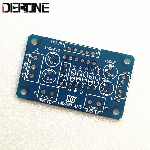 LM3886TF lm3886 güç amplifikatörü PCB HiFi profesyonel ses 1 adet için Audiophile diy