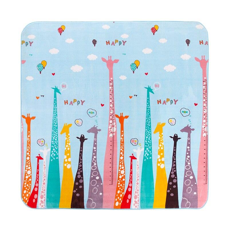 Nouveau bébé ramper tapis enfant jouer tapis enfants jeu tapis intérieur extérieur tapis pique-nique 80*190 cm tapis de bain salle de bain