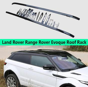 For Land Rover Range Rover Evoque 2012-2019 Aluminium alloy Silver Top Roof Rails Rack Side Bars Decoration Trim Car Accessories