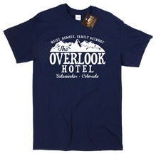 Overlook Hotel T-shirt Inspired by The Shining - Classic Retro Horror Movie NEW Mans Unique Cotton Short Sleeves  free shipping