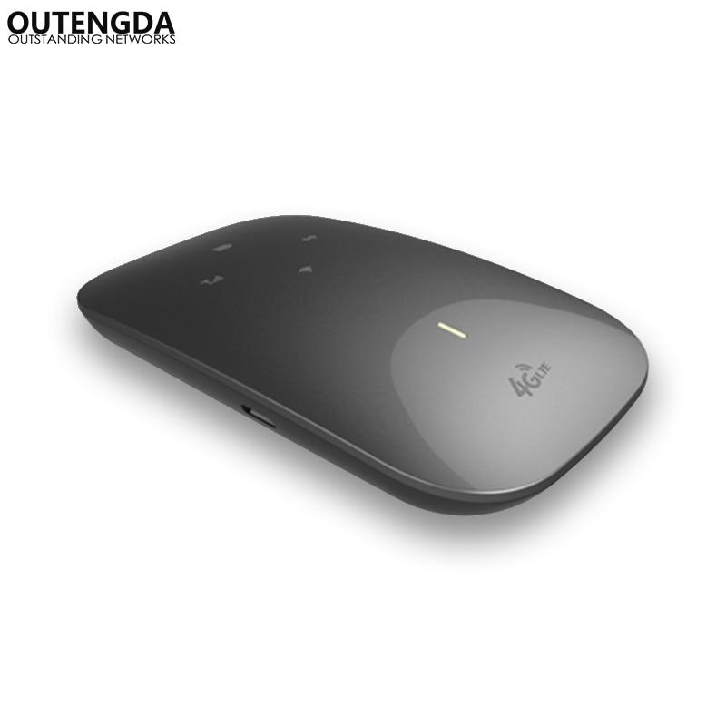 Sans fil 3g 4g LTE WiFi Routeur MiFi Portable FDD TDD-LTE UMTS GSM Mondial Déverrouiller 2800 mah Puissance Banque SIM Fente Pour Carte 10 Terminaux