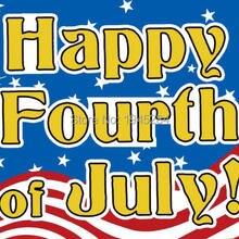 Счастливый Четвертое июля флаг рождения Америки Флаг Баннер 3x5ft 90x150 см полиэстер 9801