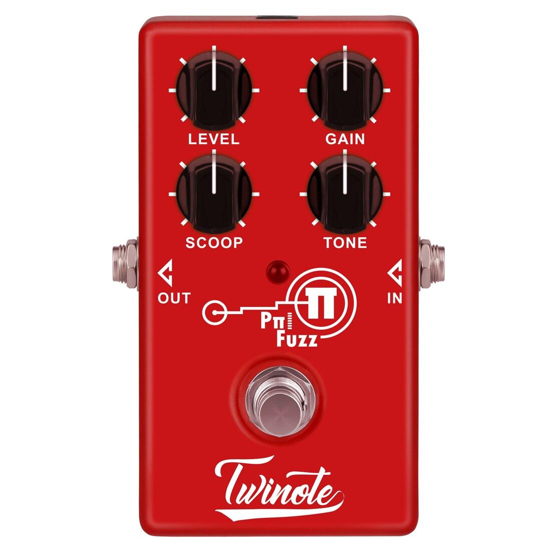 Twinote moderne FUZZ effets pédale professionnel accessoires guitare effet processeur pour guitare électrique