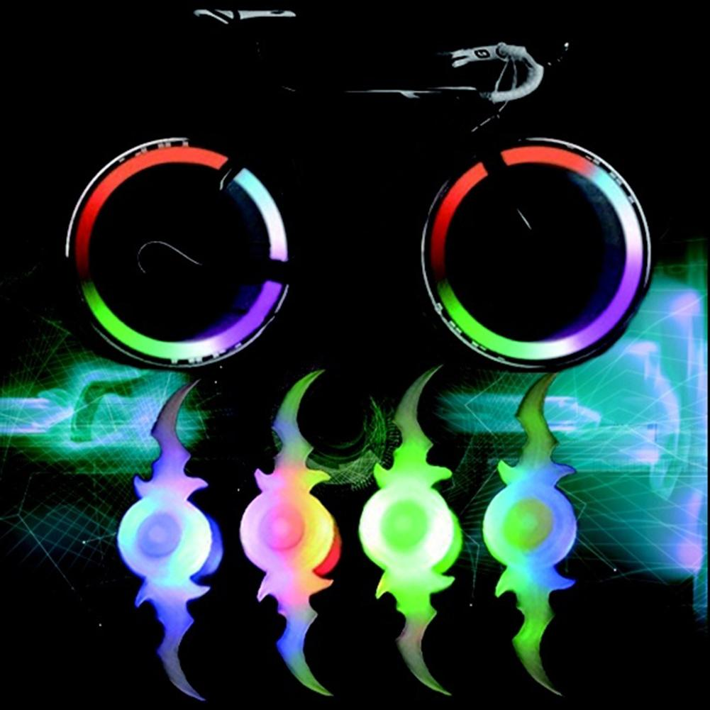 NEW 3 Mode Bat Bicycle Cycling Wire Tire Wheel LED Light Safety Flashing Lamp