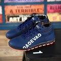 AD AcolorDay Moda de Gran Tamaño 47 de Los Hombres Zapatos de la Marca de Lujo cómodo Primavera Ocasionales de Los Hombres Zapatos de Los Hombres Clásicos del Estilo Zapatos de Alta Top