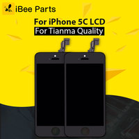 10PCS For IPhone 5C LCD Grade AAA No Dead Pixel Display Touch Screen With Digitizer Assembly