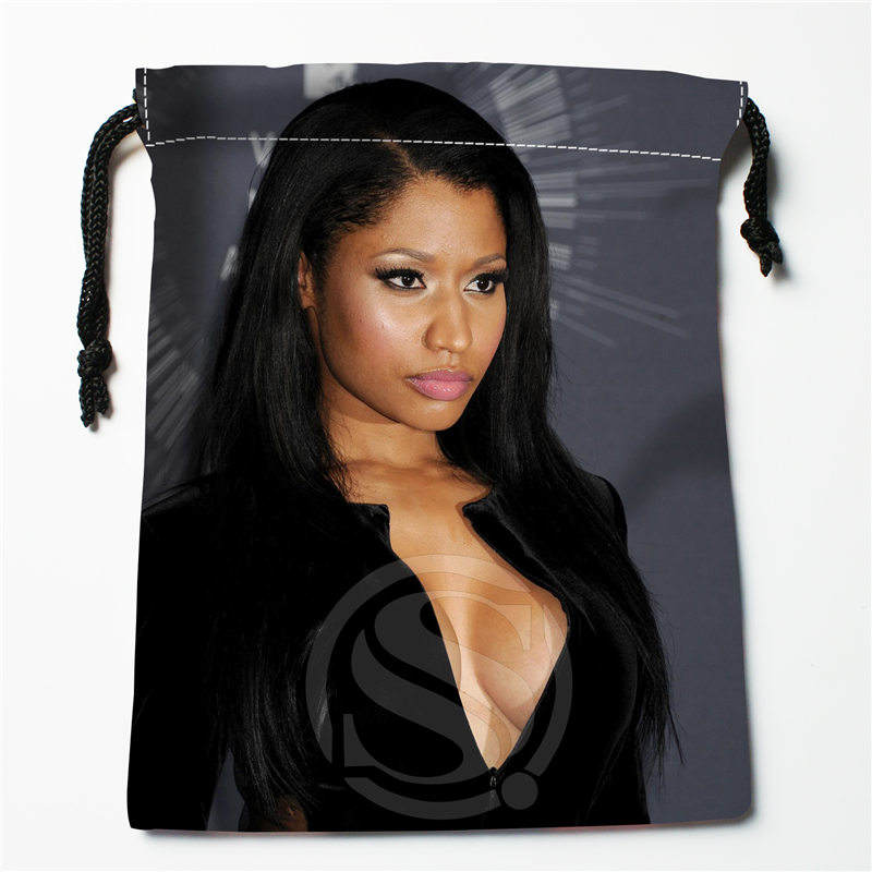 T&w147 New Batman Nicki Minaj Custom Printed  Receive Bag Compression Type Drawstring Bags Size 18X22cm F725&T147wr