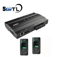 ZK Inbio160 Kit One door Fingerprint Access Control Panel Access Controller+FR1200 Fingerprint Scanner for door access control