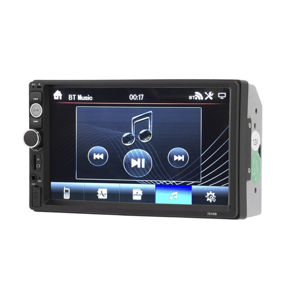 7 inch Car MP5 Multimedia Player 2 Din Radio Touch Screen Bluetooth FM USB AUX Support Rear View Camera Remote Control Car Kit 7 inch 2 din 7021g car mp5 player gps navagation bluetooth auto multimedia player with fm radio rear view camera remote control