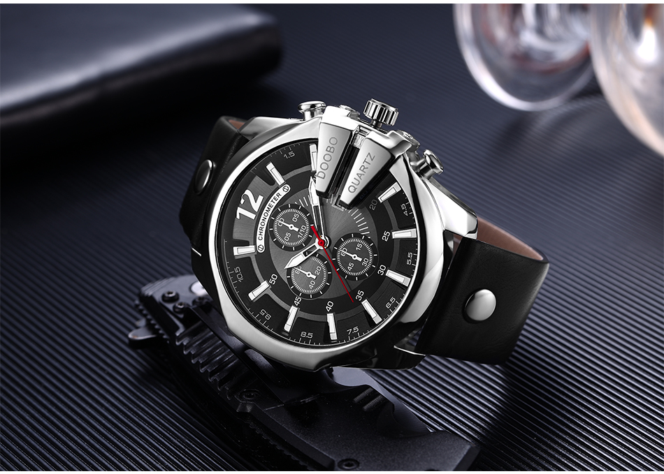 HTB1bpVnXXmWBuNjSspdq6zugXXaP DOOBO Men Watches Top Brand Luxury Gold Male Watch Fashion Leather Strap Casual sport Wristwatch With Big Dial Drop Shipping